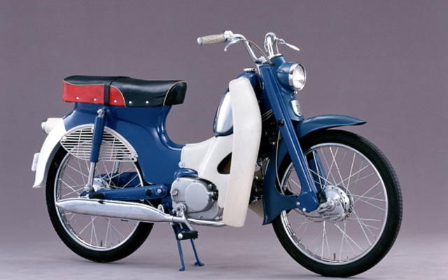 Honda's first overseas production of motorcycles