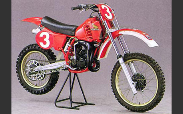 Honda's first Motocross World Championship victory