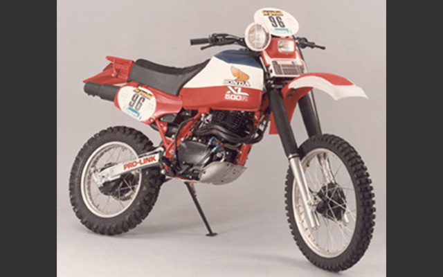 Honda's first victory at Paris-Dakar Rally