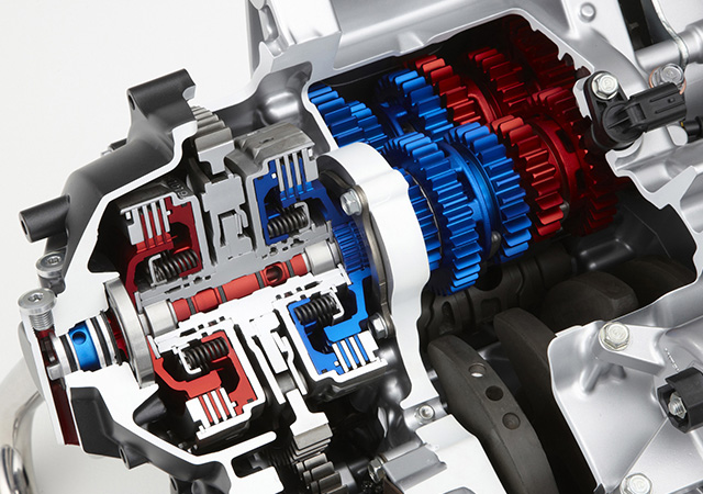 Dual Clutch Transmission(DCT) for motorcycle