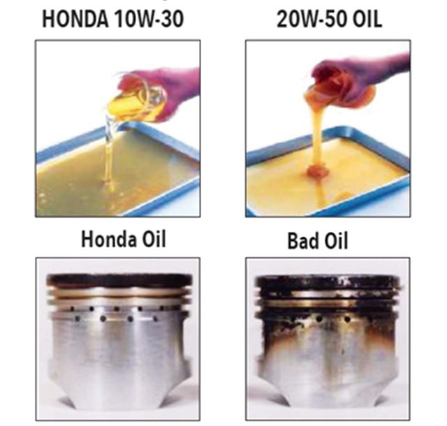 Honda genuine engine oil for motorcycle