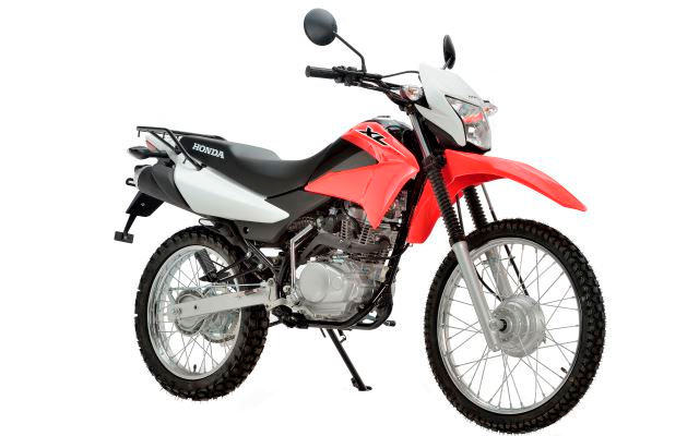 Honda XL125 Red