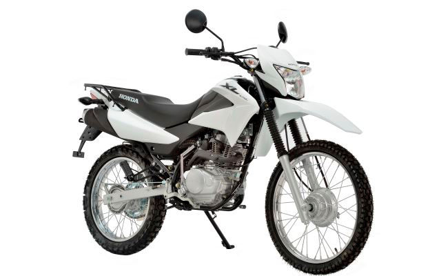 Honda XL125 White